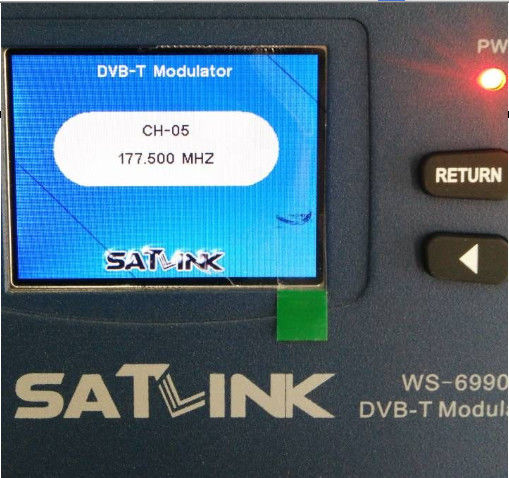 Original Modulator HDMI To Digital RF Modulator Satlink HD WS 6990